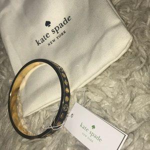 "authentic Kate Spade ""spot the spade"" bracelet"